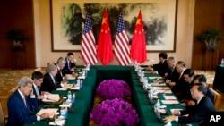 Estados Unidos y China anunciaron ocho proyectos conjuntos para reducir el cambio climático.