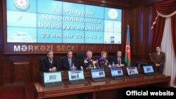 Mərkəzi Seçki Komissiyasının sədri Məzahir Pənahov