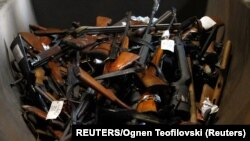 Oružje pripremljeno za uništavanje, ilustrativna fotografija