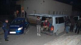 Trafiku i refugjatëve në jug të Shqipërisë