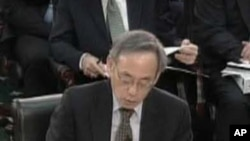 能源部长朱棣文在国会作证