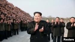 Le dirigeant nord-coréen Kim Jong-Un.