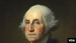 Potret Mendiang Presiden Amerika George Washington di Museum National Portrait Gallery, Washington DC (Foto: dok).
