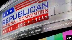 Comienza la Convención Nacional Republicana en Cleveland, Ohio, y se extenderá hasta el jueves.