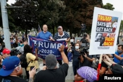 Tổng thống Trump gặp người ủng hộ ở Kenosha, Wisconsin, 1/9/2020