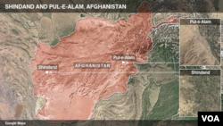 Shindand and Pul-e-Alam Afghanistan