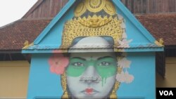 Circus school of Phare Ponleu Selpak, in Battambang province on June 16, 2020. (Khan Sokummono/VOA Khmer)
