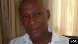 Presidente do Instituto de Cinema da Guiné Bissau Carlos Vaz