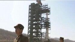 朝鲜即将发射火箭邻国军队观察等待