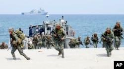 Pasukan Jepang bergabung dalam latihan militer AS dan Filipina yang dimulai pekan ini (foto: ilustrasi).