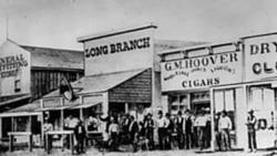 Dodge City, Kansas in 1874