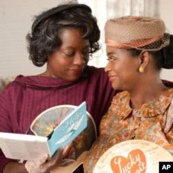 """Viola Davis (left) plays Aibileen Clark in """"The Help."""""""