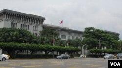 台湾外交部大楼 (美国之音张永泰拍摄)