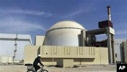 伊朗濃縮鈾設施。(資料圖片)