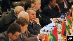 شرکت کنندگان در کنفرانس بین المللی تهران