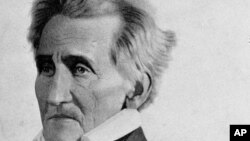 President Andrew Jackson, the 7th president on the U.S. is shown in an undated portrait.