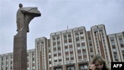 Приднестровье. Здание Верховного Совета в Тирасполе