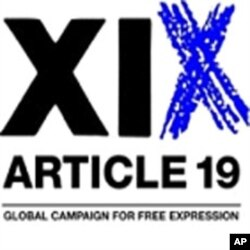 London-based Article 19 promotes freedom of expression
