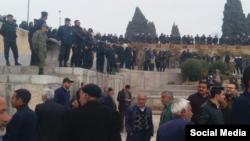 گزارشها حاکی از حضور ماموران امنیتی در تجمعات روز چهارشنبه کشاورزان اصفهان است