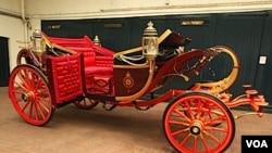 Este noble carruaje tirado a caballos fue construido en 1902 para la coronación del rey Eduardo VII.