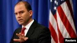 Ông Ben Rhodes, Phó Cố vấn An ninh Quốc gia Mỹ.