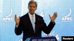 Ngoại trưởng Hoa Kỳ John Kerry nói chuyện tại Diễn đàn APEC