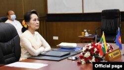 ႏိုင္ငံေတာ္ အတိုင္ပင္ခံပုဂၢိဳလ္ ေဒၚေအာင္ဆန္းစုၾကည္ (ဓါတ္ပံု-Myanmar State Counsellor Office)