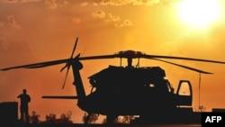 美军黑鹰直升机(资料照片)