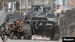 Chính phủ Philippines đã tuyên bố tình trạng vô luật lệ tại Mindanao để mở đường cho sự hợp tác chặt chẽ hơn giữa các lực lượng cảnh sát và quân đội nhằm dẹp tan các phần tử nổi dậy. (Ảnh tư liệu)