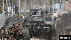 Quân đội Philipines tìm cách giành lại thành phố Marawi trên đảo Mindanao trong suốt tám ngày qua.