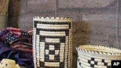 Native American Tribe Creates Prized Baskets