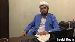 """Toshkent shahridagi """"Omina"""" masjidida imomlik qilgan Fazliddin Parpiyev"""