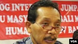 Kepala Dinas Pendidikan, Pemuda dan Olah Raga (Kadisdikpora) Bali Drs. Anak Agung Ngurah Gde Sujaya (foto: Muliarta).