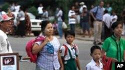 အေမ့အိမ္ေက်ာင္း ျပဳျပင္ေရး တားဆီးခံေနရ