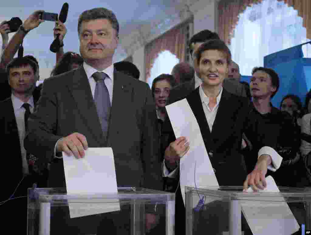 Ուկրաինայում անցկացվում են նախագահական ընտրությւոններ