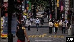 ေတာင္ကိုရီးယားႏိုင္ငံ Seoul ၿမိဳ႕မွာ ေတြ႕ရတဲ့ လမ္းသြားလမ္းလာတခ်ိဳ႕။ (ၾသဂုတ္ ၂၅၊ ၂၀၂၀)