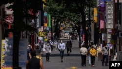 ေတာင္ကိုရီးယားႏိုင္ငံ Seoul ၿမိဳ႕မွာ ေတြ႔ရတဲ့ လမ္းသြားလမ္းလာတခ်ိဳ႕။ (ၾသဂုတ္ ၂၅၊ ၂၀၂၀)
