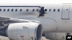 Indege Itwara abantu ya Somaliyayagizweko igitero ca bombe mu kwezi kwa kabiri muri uyu mwaka w'i 2016