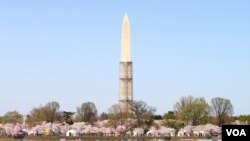 بنای یادبود جرج واشنگتن در پایتخت ایالات متحده آمریکا