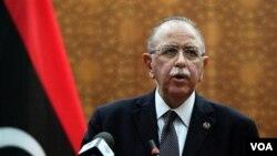 PM Abdurrahim el-Keib mengumumkan susunan Kabinet baru Libya hari Selasa (22/11).
