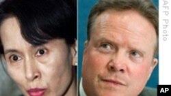美国参议员会见缅甸民主领袖,释放美国公民