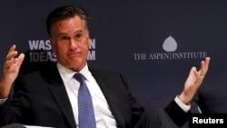 El excandidato presidencial de Estados Unidos Mitt Romney.