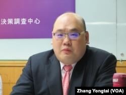 中正大學戰略與國際事務研究所助理教授林穎佑(美國之音張永泰拍攝)