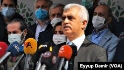 Parlamenterê HDPê Omer Faruk Gergerlioglu