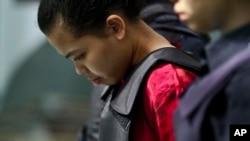 Cô Siti Aisyah được dẫn giải ra tòa.