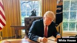Predsednik SAD Donald Tramp (arhivski snimak)