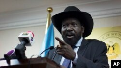 Presiden Sudan Selatan Salva Kiir