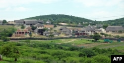 FILE - South African President Jacob Zuma's private residence in Nkandla, some 178 kilometers north of Durban.