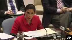 Duta Besar Amerika Serikat untuk PBB, Susan Rice (Foto: dok)