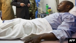 Un blessé du Darfour